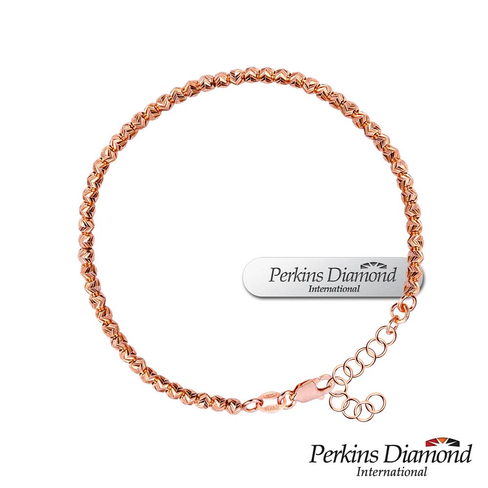 PERKINS 伯金仕 - Circle II 玫瑰金系列 925純銀手鍊