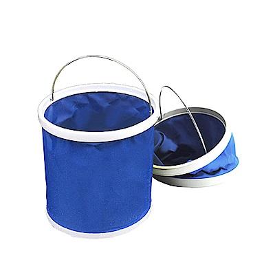 韓國熱銷 11公升摺疊多用途水桶/裝水/釣魚/露營/洗車/大掃除
