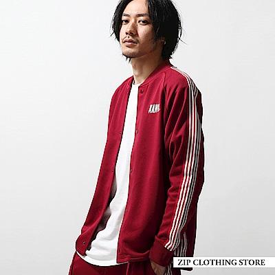 衣袖線條夾克外套(4色) ZIP日本男裝