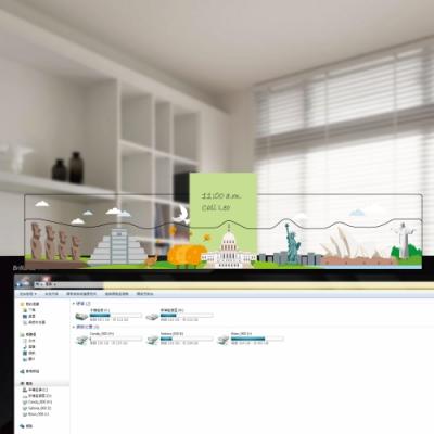 OSHI歐士 電腦螢幕留言備忘版-城市旅行-美洲/MEMO夾/辦公用品/便利貼/留言板/