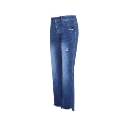 FILA 女牛仔褲-藍色 5PNU-5449-BU