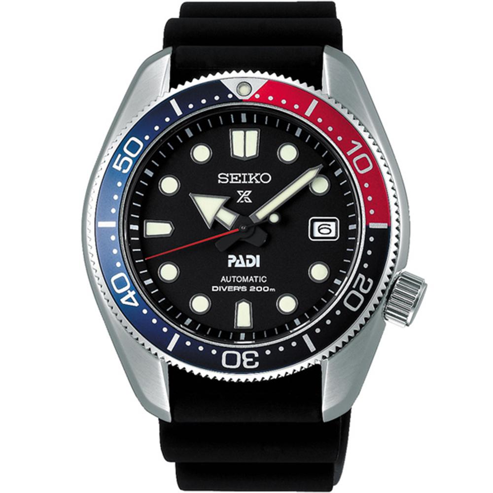 SEIKO 精工Prospex PADI 潛水機械聯名款-藍6R15-04J0D