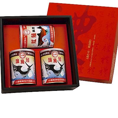 台糖 魚鬆禮盒(鮭魚鬆x1;旗魚鬆x2)