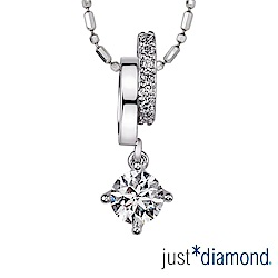 Just Diamond 馨願 GIA 0.5克拉18K金鑽石墜子