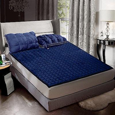 Hilton 希爾頓 6D酷涼透氣舒棉絨兩用床墊/加大