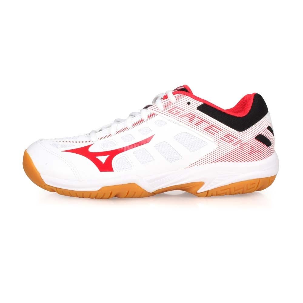 MIZUNO 男女 羽球鞋 GATE SKY 2 白紅黑