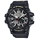 G-SHOCK 全方位防塵泥雙傳感器休閒運動錶(GG-1000-1A)帆布黑/55.3mm