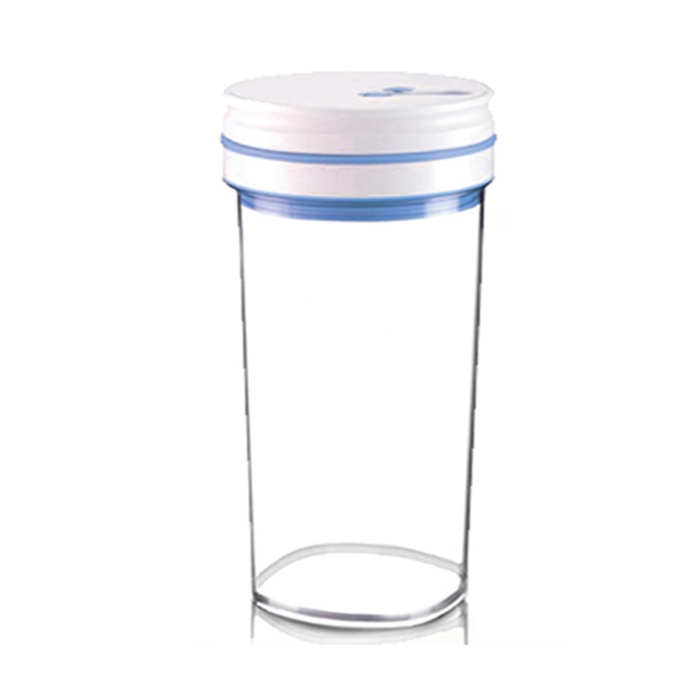 金德恩 台灣製造專利款 高科技智能晶片經典按壓式真空保鮮罐禮盒1.8L