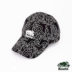 Roots配件- 海狸立體圖案棒球帽-黑