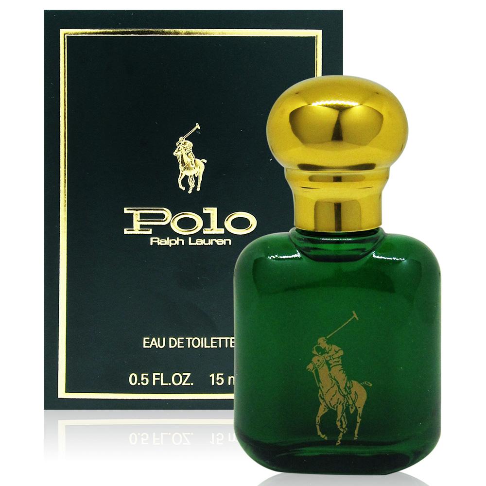 RALPH LAUREN POLO 綠色馬球男性淡香水15ml 美國進口附隨機針管香水乙份