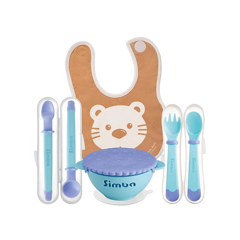 小獅王辛巴 美味曲奇系列餐具四件組
