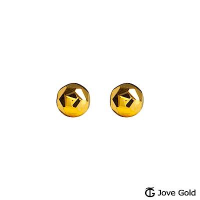 Jove gold 愛宣言黃金耳環