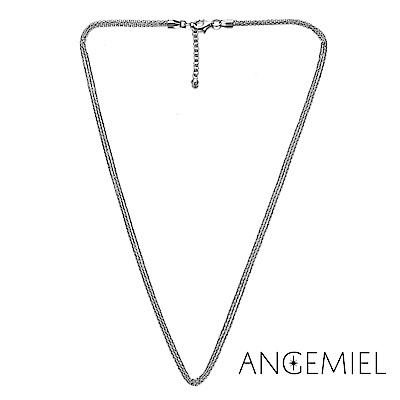 Angemiel安婕米 義大利珠飾 925純銀項鍊(多層次)