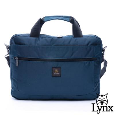 Lynx - 美國山貓紳士商務防潑水公事電腦包