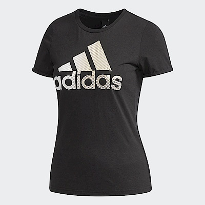 adidas Logo 短袖上衣 女 DM3106