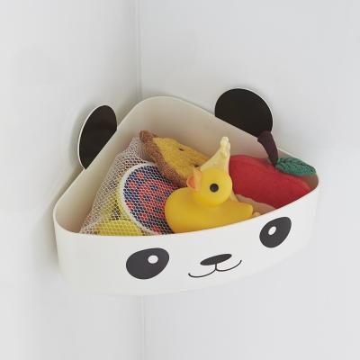 【YAMAZAKI】KIDS玩具小物收納籃-貓熊★收納盒/居家收納/玩具收納