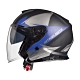 MTHELMETS MT安全帽 THUNDER3 sv Jet WNG系列消光灰藍 product thumbnail 1