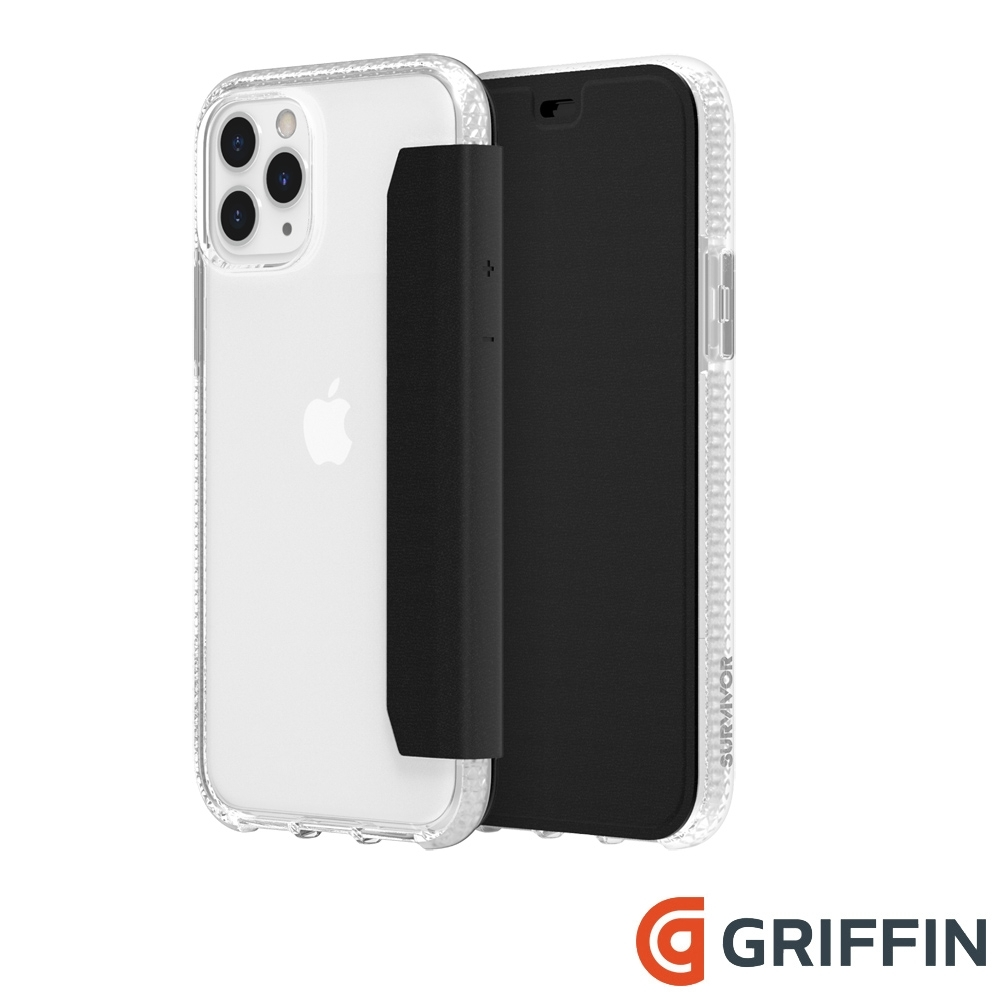 Griffin Clear Wallet iPhone 11 Pro 側翻保護套