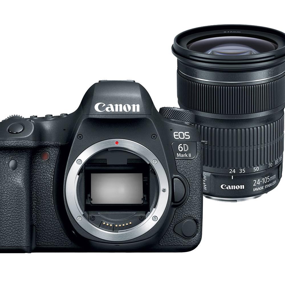 【快】CANON 6D Mark II+24-105mm STM 單鏡組*(中文平輸)