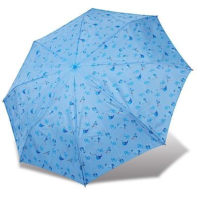 RAINSTORY 火鶴抗UV雙人自動傘(藍)