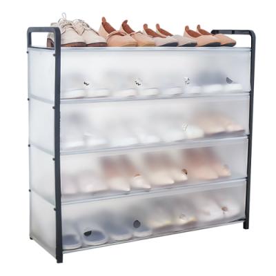 CityShop 防塵多層組合鞋架 5層長款 1入