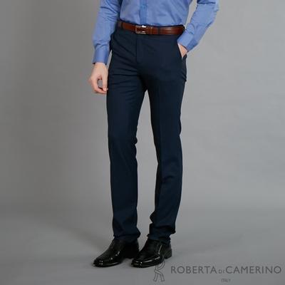 ROBERTA諾貝達 進口素材 商務都會精選西裝褲 藍色