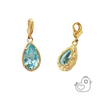 【彩糖鑽工坊】彩糖貝貝 土耳其藍 藍色 閨蜜 彩糖貝貝繽紛寶石系列