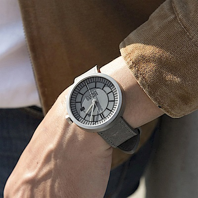 【22】分格水泥機械錶-水泥灰(Concrete Sector Watch Automatic - Concrete Grey Edition/43mm)