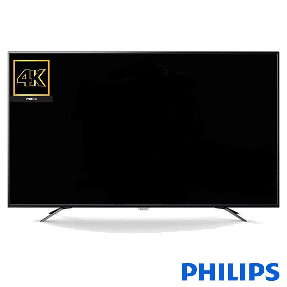 PHILIPS飛利浦 55吋 4K 液晶顯示器+視訊盒 55PUH6052 *送美食鍋