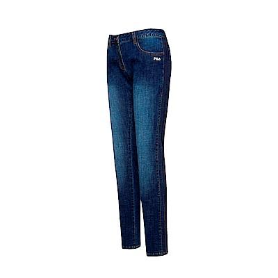 FILA 女款牛仔褲-藍色 5PNT-1495-BU