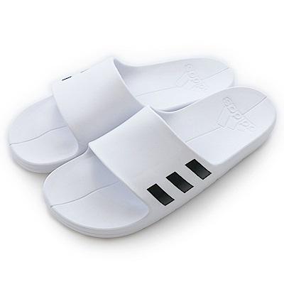 Adidas 愛迪達AQUALETTE-運動拖鞋-男