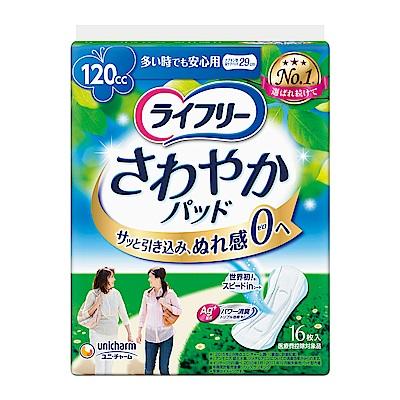 來復易 瞬吸安心漏尿專用棉墊 多量箱購 (16片x6包/箱)