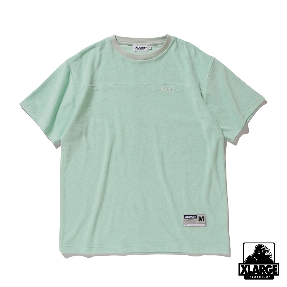 XLARGE S/S TERRY FOOTBALL T 短袖T恤-綠 product image 1