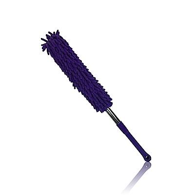 【車的背包】超細纖維絨毛除塵撢子(伸縮加長型)紫色