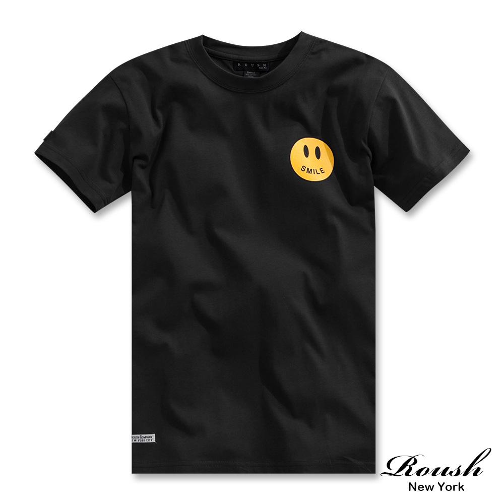 Roush SMILE微笑先生短TEE(3色)