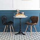 完美主義 復古風皮革餐椅/楓木椅/書桌椅-2入組(3色)