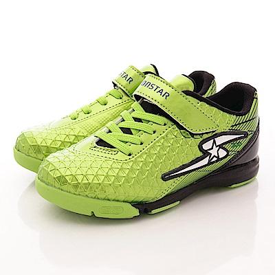 日本月星頂級競速童鞋 草地運動系列 SE477綠(中大童段)