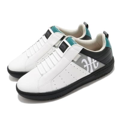 Royal Elastics 休閒鞋 Icon Manhood 2 男鞋 基本款 套腳 簡約 皮革 質感 穿搭 白 黑 06501089