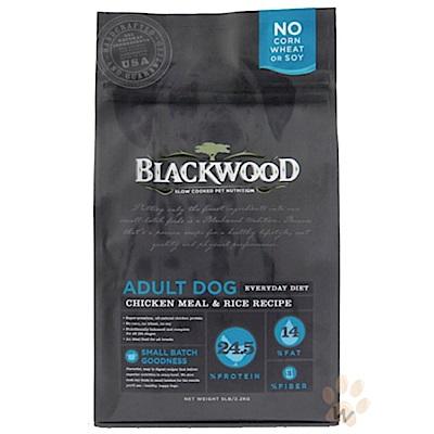 《12月獨家》柏萊富blackwood 特調成犬活力配方(雞肉+糙米)30磅X2包組