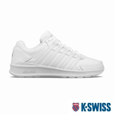 K-SWISS Vista Trainer時尚運動鞋-男-白