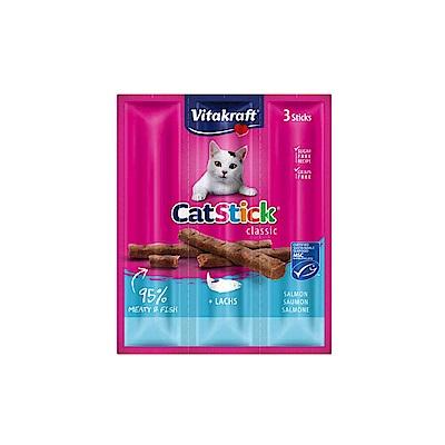 德國Vitakraft 貓快餐鮭魚單包/3條入-10包組