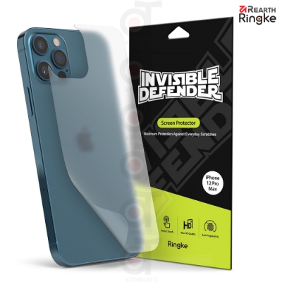 【Ringke】Apple iPhone 12 Pro Max Back Screen Protector 霧面抗指紋背貼 (二片裝)