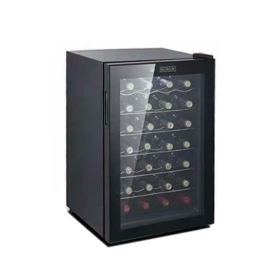 波爾多Bordeaux半導體紅酒櫃28瓶 酒櫃 JC65 BNW-Black