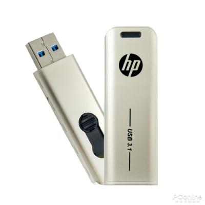 【HP 惠普】x796w USB 3.1 Gen1 256GB金屬伸縮隨身碟