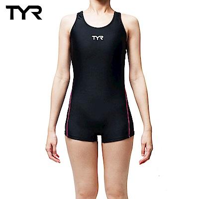 美國TYR 修身款連身四角泳裝 Caltha Boyleg
