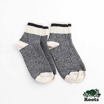 Roots-配件- 經典CABIN踝襪 (女)-黑