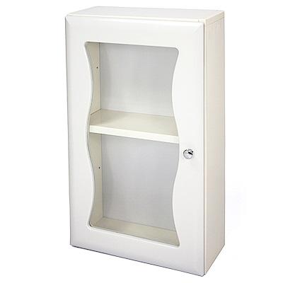 Aaronation 時尚塑鋼單門浴櫃 GU-C1010