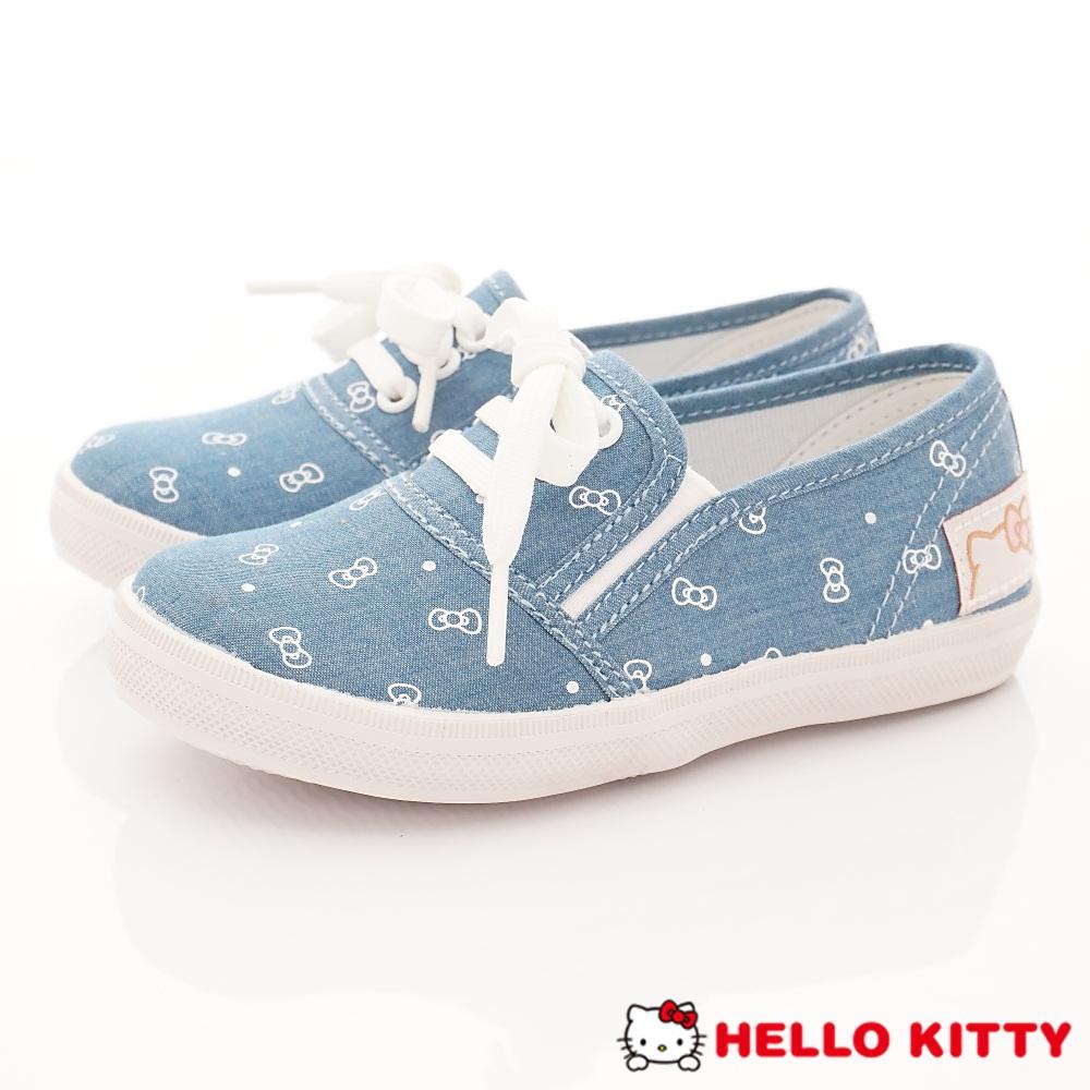 HelloKitty童鞋 時尚休閒帆布款 SE18619水(中小童段)