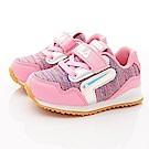 FILA頂級童鞋 針織止滑運動款 FO51T-591粉(中小童段)
