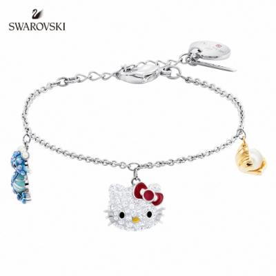 施華洛世奇 Hello Kitty Seahorse 多色凱蒂貓海馬珍珠手鏈